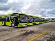 如期而至 比亚迪西班牙15台纯电动大巴完美交付